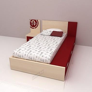 Кровать дм7