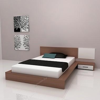 Кровать 12 с тумбой