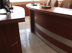 Зал заседаний ОАО Гомельстройматериалы, мебель 46 мм