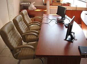 Зал заседаний ОАО Гомельстройматериалы, кресла Orion steel chrome CF LB