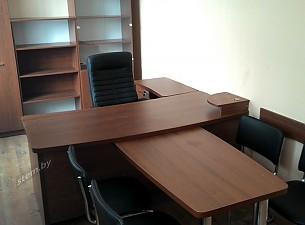 Фото кабинет заместителя, кресла Orion Chrome и silvia